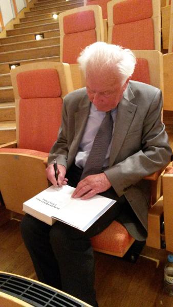 Siegmund Jähn am 26. April 2019